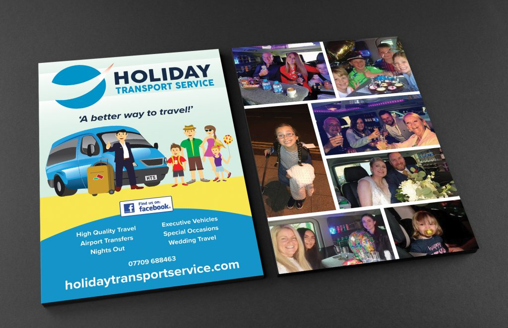 Holiday Transport Service Leaflet