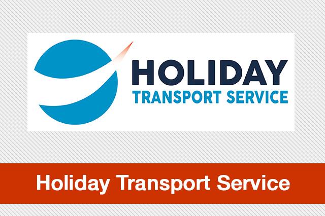 Holiday Transport Service Logo